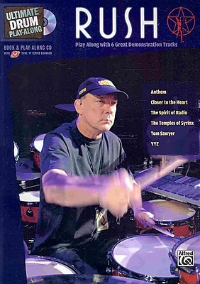 Ultimate Drum Play-Along Rush: Authentic Drum (Book & CD) (Ultimate Drum-Along)