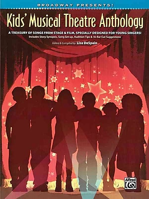 Kids' Musical Theatre Anthology Book/CD (Broadway Presents!)