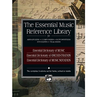 Essential Dictionaries of Music Reference Library