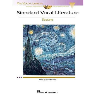 Standard Vocal Literature - An Introduction to Repertoire: Soprano (Vocal Library)