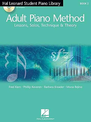 Hal Leonard Student Piano Library Adult Piano Method - Book 2/CD: Book/CD Pack