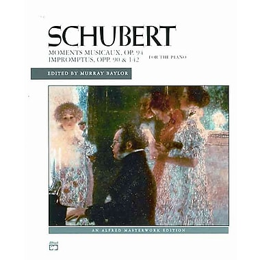 Schubert Moments Musicaux, Op. 94 Impromptus, Opp. 90 & 142 for the Piano (Alfred Masterwork Editions)
