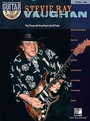 Stevie Ray Vaughan: Guitar Play-Along Volume 49, with CD (Hal Leonard Guitar Play-Along)