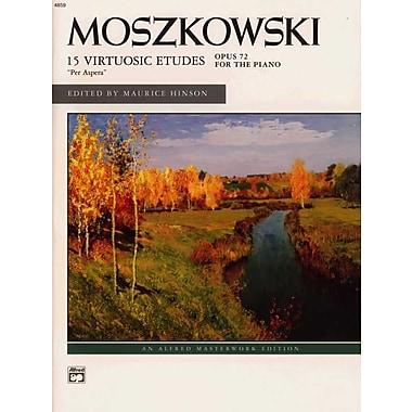 Moszkowski -- 15 Etudes, Op. 72