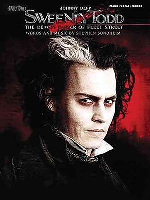 Sweeney Todd- Movie Selections- Piano, Vocal