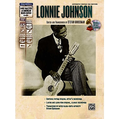 Lonnie Johnson (Book & CD) (Stefan Grossman's Early Masters of American Blues Guitar)