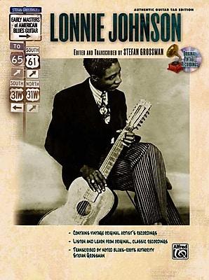 Lonnie Johnson (Book & CD) (Stefan Grossman's Early Masters of American Blues Guitar)