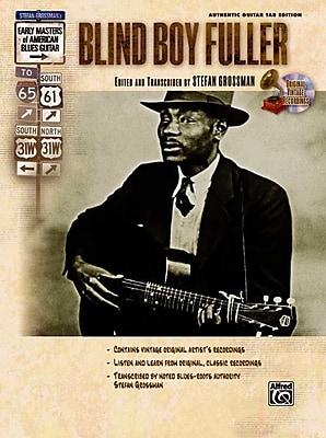 Blind Boy Fuller (Book & CD) (Stefan Grossmans Early Masters of American Blues Guitar)