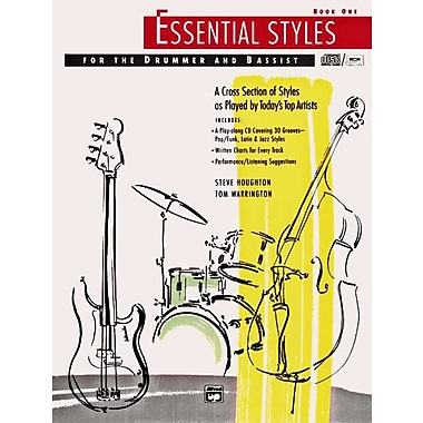 Essential Styles for the Drummer and Bassist, Book 1 (Book and CD)