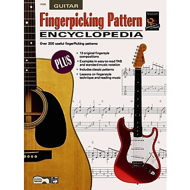 Fingerpicking Pattern Encyclopedia (Book & CD-ROM)