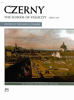 Czerny: The School of Velocity, Opus 299 (An Alfred Masterwork Edition)