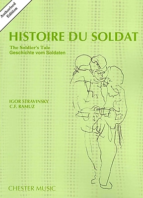 STRAVINSKY HISTOIRE DU SOLDAT - AUTHORISED NEW EDITION 1987 ST SC (English, French and German Edition)