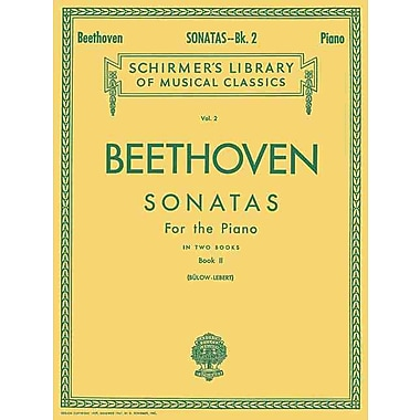 Sonatas - Book 2: Piano Solo (Schirmer's Library of Musical Classics, Vol. 2)