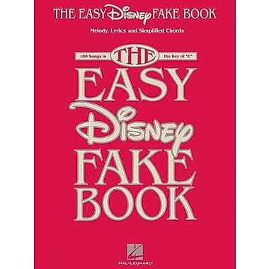 The Easy Disney Fake Book - 100 Songs In The Key Of C