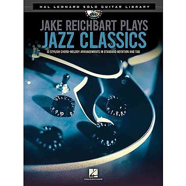 Jake Reichbart Plays Jazz Classics - Hal Leonard Solo Guitar Library (Book/DVD)