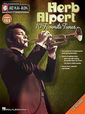 Herb Alpert - Jazz Play-Along Volume 164 (Book/CD)