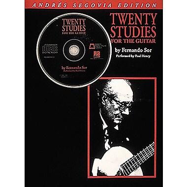 Andres Segovia - 20 Studies for the Guitar