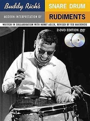 Buddy Rich's Modern Interpretation of Snare Drum Rudiments: Book/2-DVDs Pack