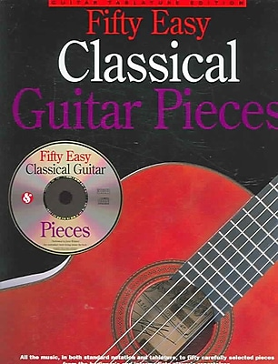50 Easy Classical Guitar Pieces (Music Sales America)