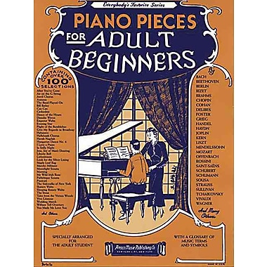 Piano Pieces for the Adult Beginner (Everybody's Favorite Series)