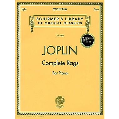 Joplin - Complete Rags for Piano (Schirmer's Library of Musical Classics) Vol. 2020