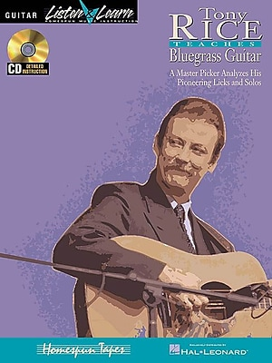 TONY RICE TEACHES BLUEGRASS GUITAR BK/CD