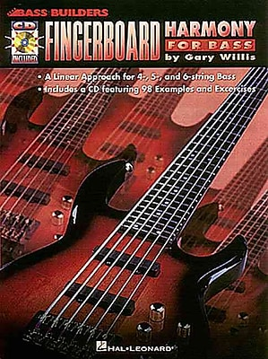 Fingerboard Harmony for Bass (Bass Builders)