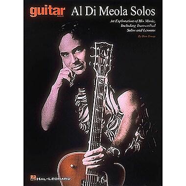 DI MEOLA AL SOLOS (Guitar School)