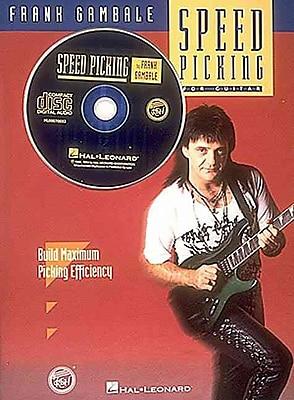 SPEED PICKING FOR GUITAR BK/CD