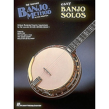 Easy Banjo Solos: For 5-String Banjo