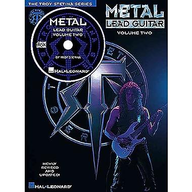 METAL LEAD GUITAR VOLUME 2 BK/CD (The Troy Stetina Series)