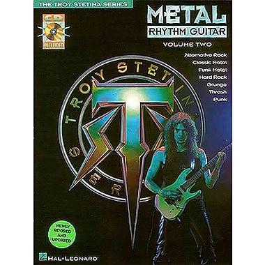 METAL RHYTHM GUITAR VOL 2 BK/CD (The Troy Stetina)