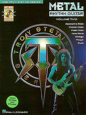 METAL RHYTHM GUITAR VOL 2 BK/CD (The Troy Stetina)