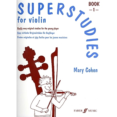 Superstudies for Violin, Bk 1