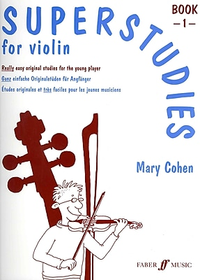 Superstudies for Violin, Bk 1