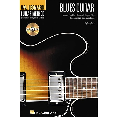 Hal Leonard Guitar Method - Blues Guitar: 6 inch. x 9 inch. Edition (Hal Leonard Guitar Method (Songbooks))