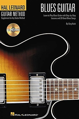 Hal Leonard Guitar Method - Blues Guitar: 6 inch. x 9 inch. Edition (Hal Leonard Guitar Method (Songbooks))