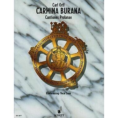 CARMINA BURANA COMPLETE VOCAL SCORE