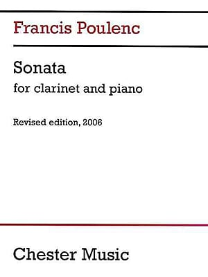 Sonata for Clarinet and Piano: Revised Edition, 2006