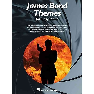 James Bond Themes (Easy Piano Songbook)