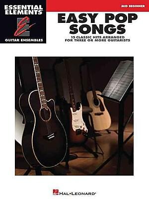 Easy Pop Songs: Essential Elements Guitar Ensembles