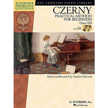 Carl Czerny - Practical Method for Beginners, Op. 599 (With CDs of Performances) (Hal Leonard Piano Library)