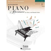 INTERNATIONAL EDITION ACCELERATED PIANO ADVENTURES LESSON BOOK-BOOK1 FOR OLDER BEGINNER