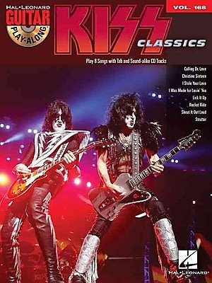 KISS: Guitar Play-Along Volume 168 (Book/CD)
