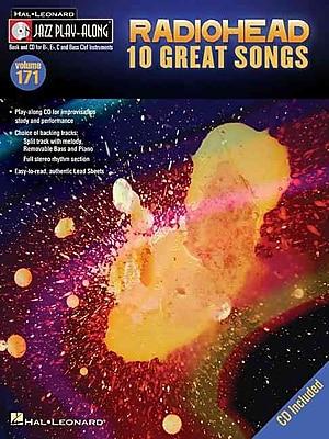 Radiohead: Jazz Play-Along Volume 171 (Book/CD)