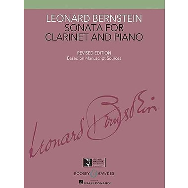 SONATA FOR CLARINET AND PIANO - BOOK ONLY - NEW EDITION