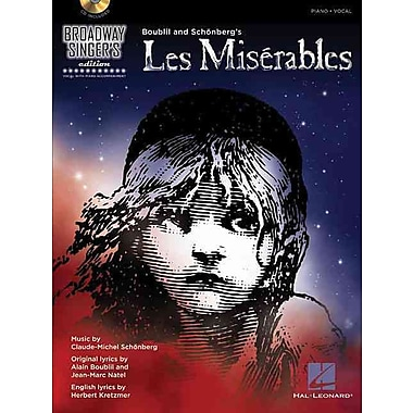 Les Miserables: Broadway Singer's Edition (Book/CD)