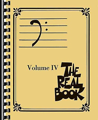The Real Book - Volume IV: Bass Clef Edition (The Bass Clef Real Book)