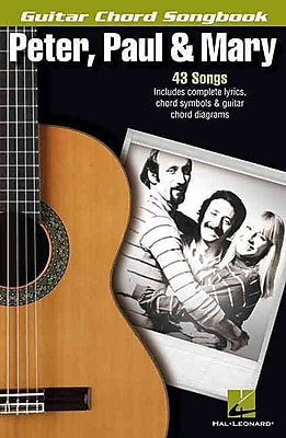 Peter, Paul & Mary - Guitar Chord Songbook (Guitar Chord Songbooks)