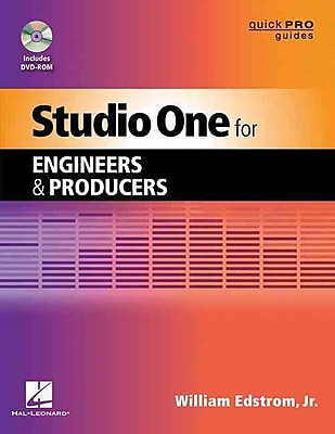 Studio One For Engineers And Producers (Quick Pro Guides) (Quick Pro Guides (Hal Leonard))